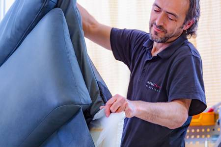 Production – upholstery department